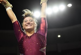 Jessica Ginn Of @SunDevilGym Named To Academic All-District First Team