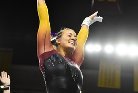 Senior Day Sees Third-Straight Win For @SunDevilGym
