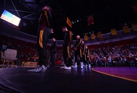 @ASUWrestling Opens Season in Empire State