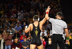 @ASUWrestling Finishes Month-Long Road Swing at Stanford