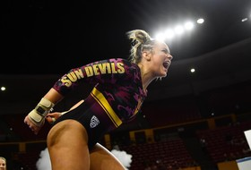 Season-High Score Pushes @SunDevilGym To Upset Over No. 10 Cal
