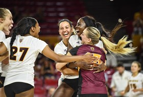 @SunDevilVB Opens 2017 Campaign with Sweeps Over Weber State and North Dakota State