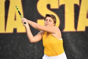 #24 Women's Tennis Makes Quick Work of #38 Kentucky