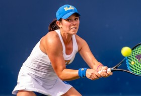 Women's Tennis Earns Shutout of Golden Bears
