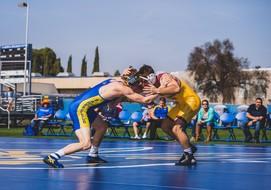 No. 3 @ASUWrestling Races Past CSUB, 31-10