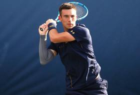 Draper Makes His Name In College Tennis