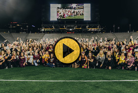 2020 Women's Football Clinic at Sun Devil Stadium