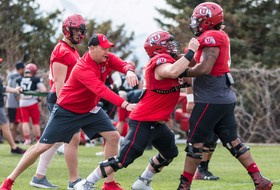 Spring Football: Rainy Day Doesn't Stop The Utes