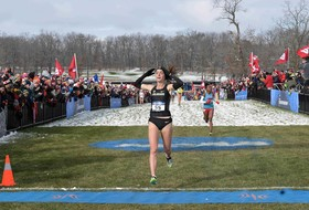 Jones Vying For Collegiate Woman Athlete of the Year and Honda Cup