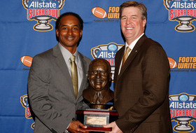 MacIntyre Honored At FWAA/Eddie Robinson Reception