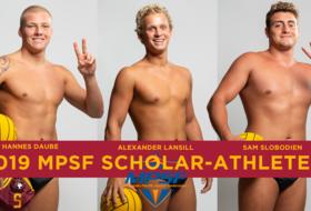 Three Trojans Earn MPSF Scholar-Athlete Status