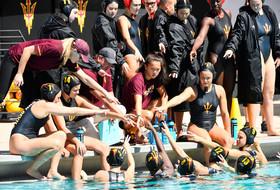 #8 ASU Water Polo Earns 17-3 Win in Home Finale