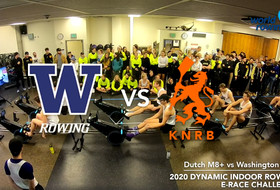 Watch: Dynamic Indoor Rowing E-Race, Netherlands vs. UW