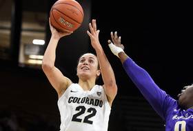 Brooks: Smith Taking Her Shots As Buffs' WNIT Success Continues
