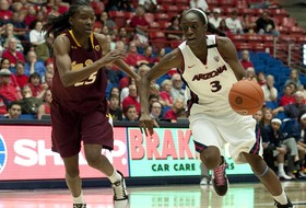 Ify Ibekwe Forever Cemented in McKale Center Rafters