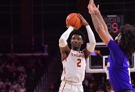Nick Rakocevic, Jonah Mathews Lead USC Men's Basketball to 62-56 Victory Over Washington