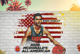 USC Men's Basketball Signee Evan Mobley Named McDonald's High School All-American