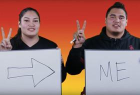 USC Sibling Quiz: Alissa & Brandon Pili