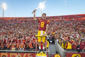 USC Quarterback Kedon Slovis Named FWAA Freshman All-American First Teamer