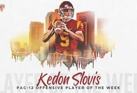 Kedon Slovis, Kenan Christon Named Pac-12 Players of the Week