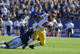 No. 24 USC Football Falls Short in Overtime at BYU, 30-27