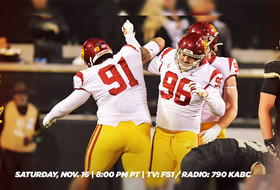 USC Football Goes to Cal to Conclude Two-Game Road Trip
