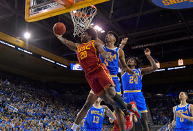 USC Men's Basketball Prevails at UCLA, 74-63