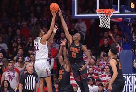 USC Men's Basketball's Comeback Bid Falls Short in 85-80 Loss At No. 23 Arizona