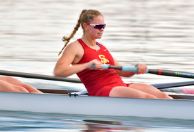 USC Women's Rowing Places First in Women's Open 2- and Novice 8+ at San Diego Fall Classic