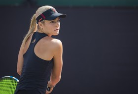 Smith Falls in Quarterfinals of Main Draw at Riviera/ITA All-American Championships