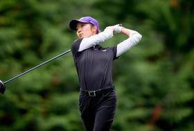 Miyamoto Tied for Eighth; Dawgs in Fourth at Cardinal Cup