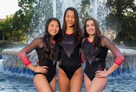 Gymnastics Lands Three