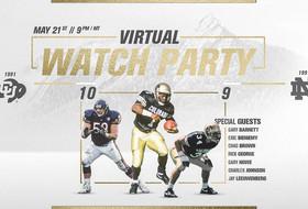 Buffs To Host Virtual Pregame Watch Party For 1991 Orange Bowl