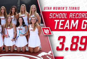 Women's Tennis Posts Highest Team GPA In Utah Athletics History