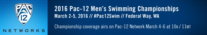 Pac-12 Men's Swimming Championships Set For Federal Way
