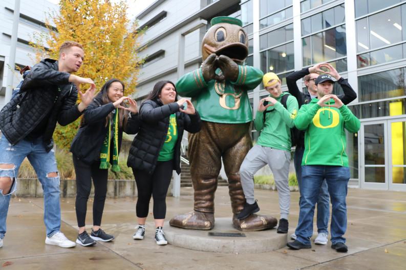 2018 The Pregame at Oregon