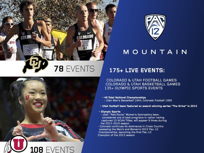 Pac-12 Mountain