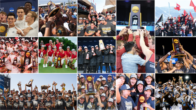 2018-19 Pac-12 NCAA Champions