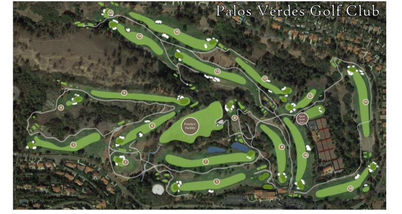 2019 WGOLF course map