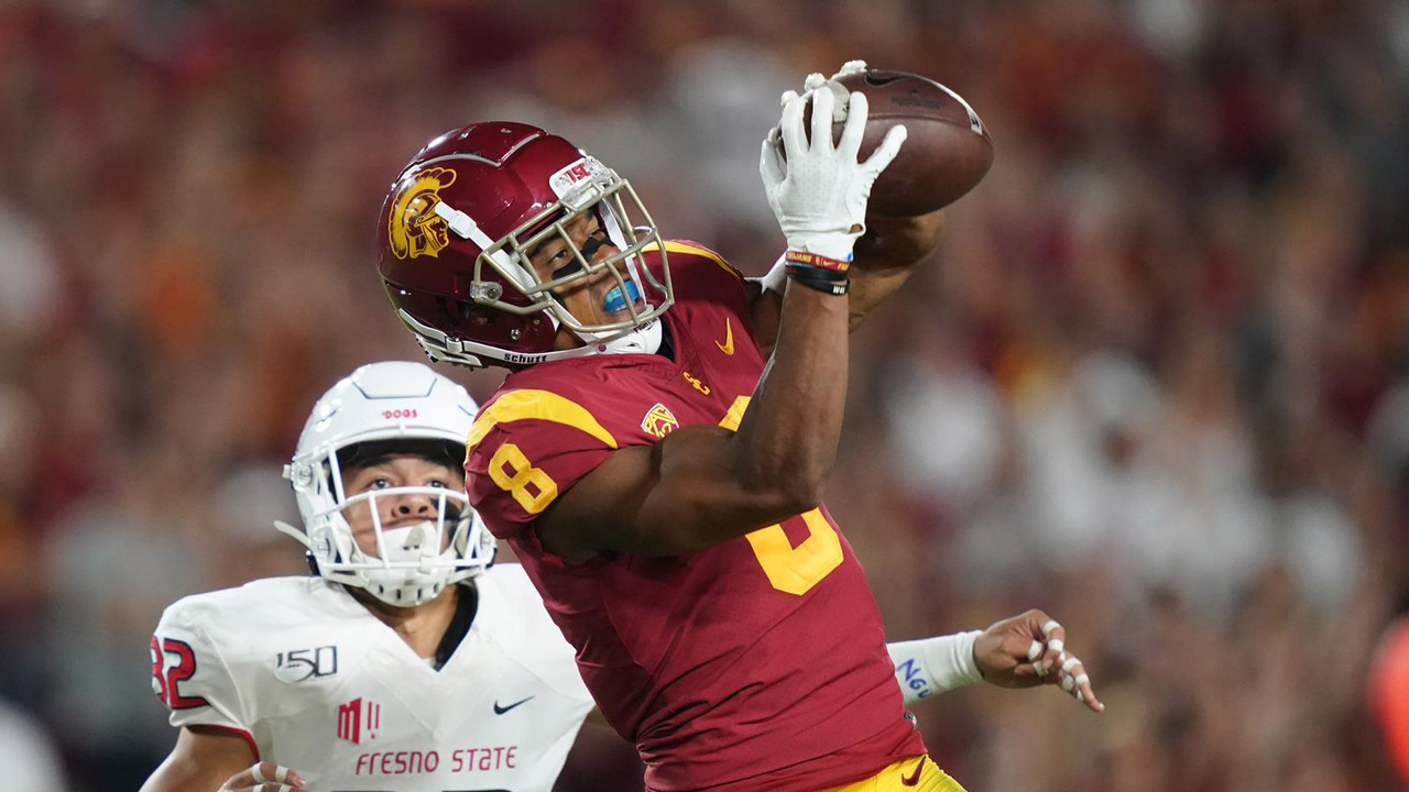 Fresno State Vs Usc Trojans Football August 31 2019 Pac