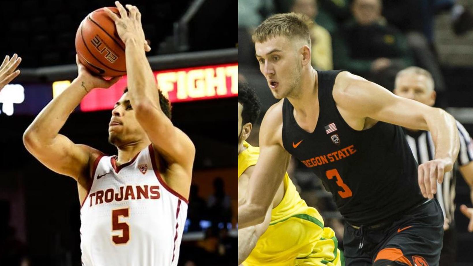 USC Trojans vs Oregon State Beavers Men s Basketball - January 10 ... 10620688f